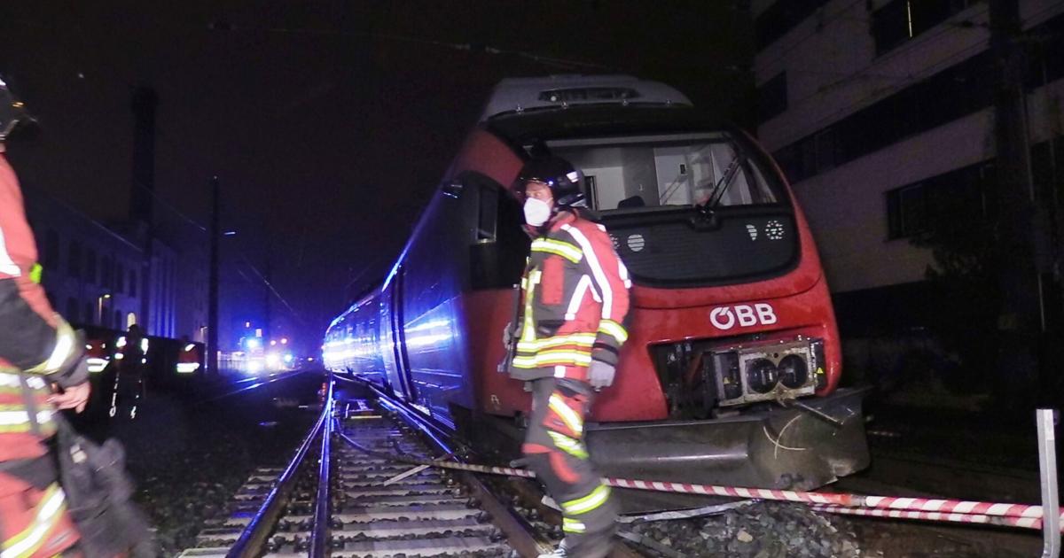 Regionalzug entgleiste kurz vor Bregenzer Bahnhof