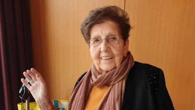 Eugenie Häusle hat mit 94 Jahren dem Coronavirus die Stirn geboten! (Bild: zVg/privat)