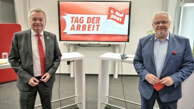 Anton Lang und Günter Pirker (Bild: SPÖ)