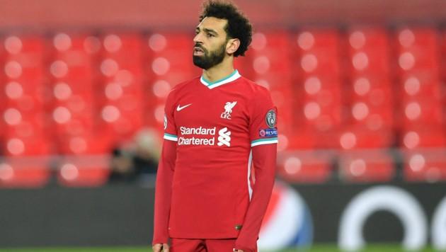 Liverpool-Star Mohamed Salah (Bild: APA/AFP/Paul ELLIS)