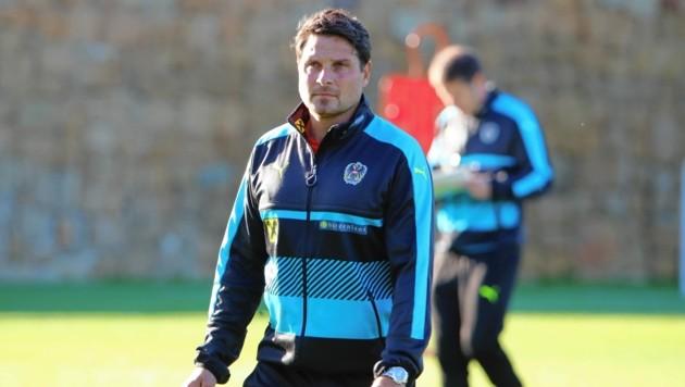 Imre Szabics greift heute nach seinem ersten Titel als Trainer. (Bild: Sepp Pail)