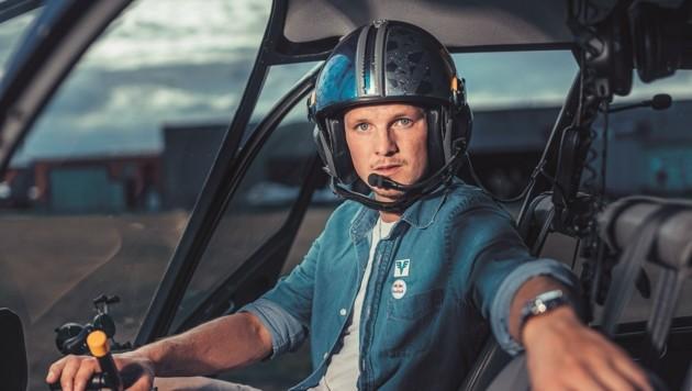 Thomas Morgenstern will auf dem Baldramsdorfer Feld einen Zivilflughafen für Hubschrauber und Hangar errichten; doch es gibt Widerstand. (Bild: Konstantin Reyer)