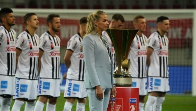 Der Pokal war für den LASK nur vorm Anpfiff nah (Bild: Pail Sepp)