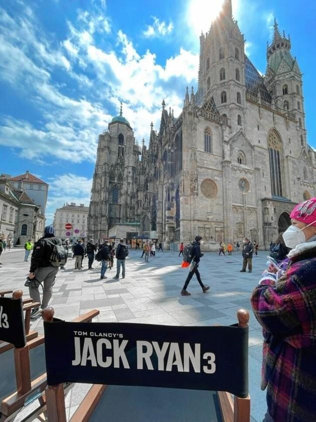 """Der Dreh der dritten Staffel der Amazon-Prime-Serie """"Jack Ryan"""" machte Halt in Wien. (Bild: Tuma Alexander)"""