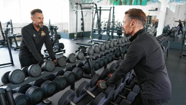 Uwe Maninger betreibt zwei Injoy-Fitnessstudios in Graz. (Bild: Pail Sepp)