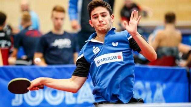 Carlo Rossi vom UTTC Salzburg (Bild: GEPA pictures/ Jasmin Walter)