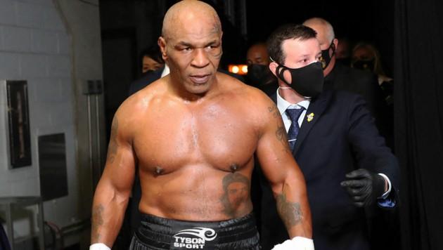 Mike Tyson (Bild: APA/Getty Images via AFP/GETTY IMAGES/Joe Scarnici)