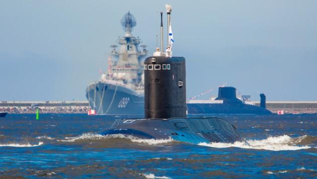 Ein russisches U-Boot, das im Rubin Design Bureau als Projekt 877 entworfen wurde. (Bild: ckb-rubin.ru)