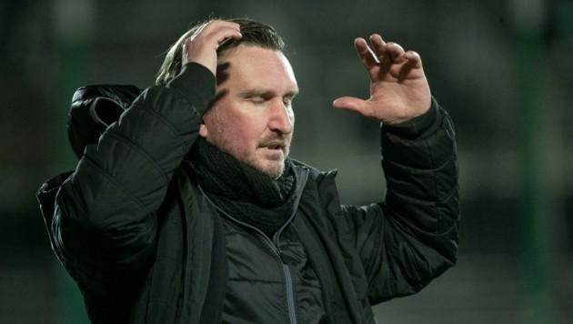 Trainer Alexander Kiene sowie Co-Trainer Tamas Tiefenbach mit sofortiger Wirkung beurlaubt. (Bild: Maurice Shourot)