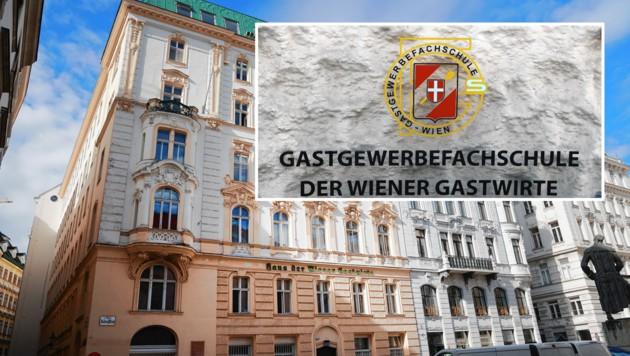 Top-Lage für Wohnungen: Gastgewerbeschule am Judenplatz in der Wiener Innenstadt. (Bild: Zwefo)