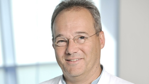 Fachmann für Hygiene: Primar Dr. Christoph Aspöck. (Bild: ROBERT HERBST WWW.POV.AT)