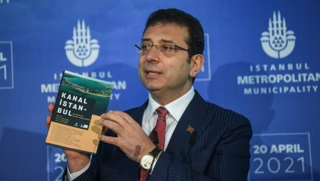 Der Bürgermeister von Istanbul, Ekrem Imamoglu (Bild: AFP/Ozan Kose)