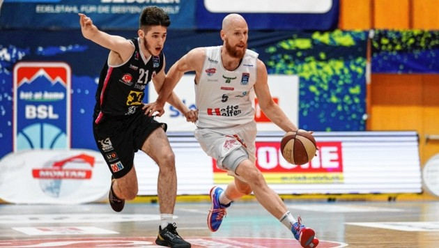 Thomas Schreiner (r.) möchte die Kapfenberg Bulls zum Basketball-Titel führen. (Bild: GEPA pictures)