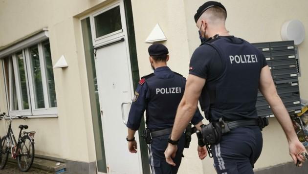 Wer in Quarantäne sitzt, bekommt jetzt Besuch von der Polizei (Bild: Tschepp Markus)