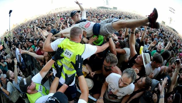 Das Nova-Rock-Festival sah im Jahr 2019 so aus. (Bild: APA/HERBERT P. OCZERET)