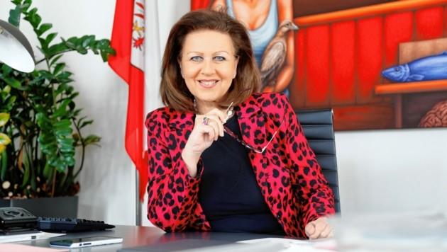 Die ehemalige Landesrätin Patrizia Zoller-Frischauf (Bild: Christof Birbaumer / Kronenzeitung)