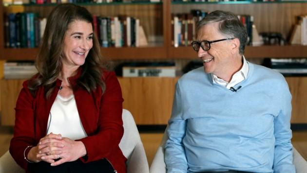 Melinda und Bill Gates (Bild: AP)