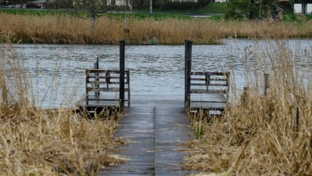 Ob heuer ein öffentlicher Betrieb möglich sein wird, steht noch nicht fest. Die Öffentlichkeit hat zurzeit keinen Zugang zum Goldegger See. Die Verhandlungen laufen weiter. (Bild: Gerhard Schiel)