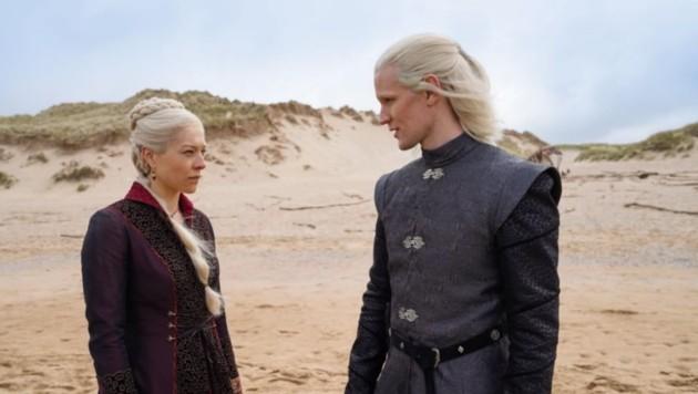 """HBO veröffentlichte erste Bilder der neuen """"GoT""""-Serie """"House of the Dragon"""". (Bild: instagram.com/houseofthedragonhbo)"""