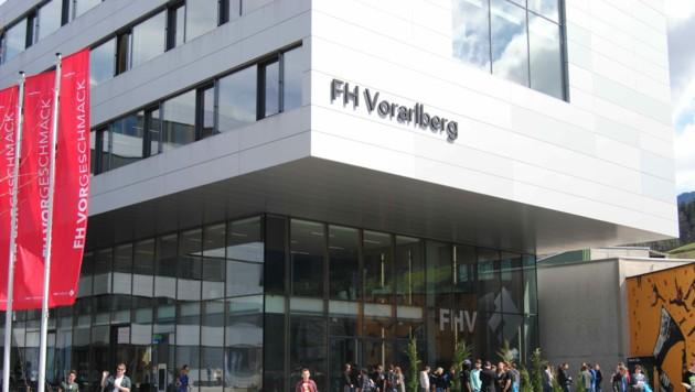 Beim größten Hochschulranking im deutschsprachigen Raum schnitt die FH Vorarlberg sehr gut ab. (Bild: zvg/FH Vorarlberg)