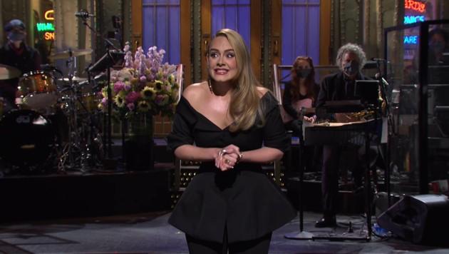 """Adele in der US-TV-Show """"Saturday Night Live"""" (SNL) (Bild: www.viennareport.at)"""