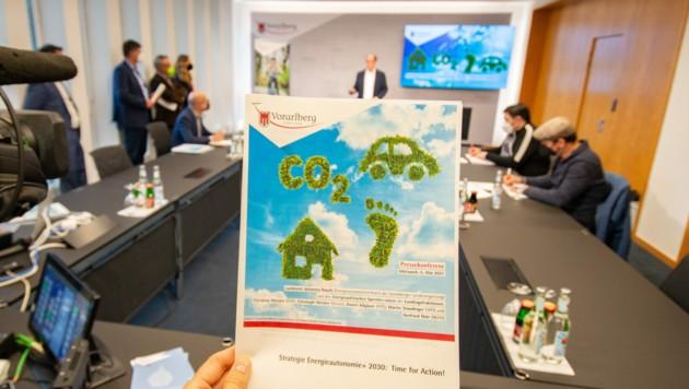 Das Land Vorarlberg intensiviert Bemühungen um Klimaneutralität. (Bild: FOTO-SERRA)