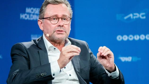 ORF-Generaldirektor Alexander Wrabetz hat seine Wiederkandidatur als ORF-Chef bekannt gegeben. (Bild: APA/GEORG HOCHMUTH)