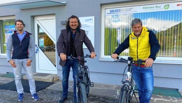 Bei Bacher Reisen in Gmünd können ab dem Sommer Fahrräder ausgeliehen werden. (Bild: Elisa Aschbacher)