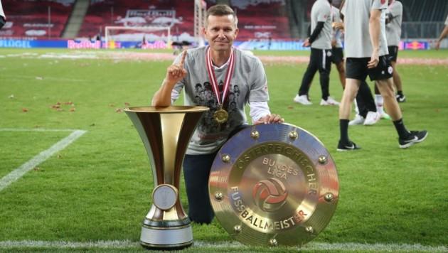 Will ein zweites Double: Bullen-Coach Marsch. (Bild: Tröster Andreas)