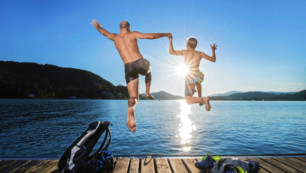 Am See hat man viel Spaß, die Buchungslage schaut gut aus. (Bild: Zupanc)