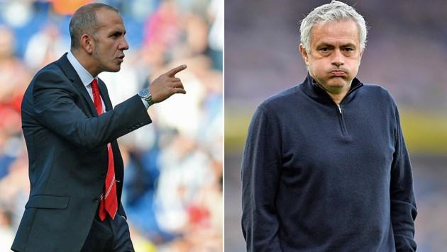 Paolo Di Canio (links), José Mourinho (Bild: AP, AFP)