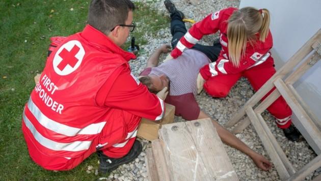 First Responder sind oft die ersten Helfer am Einsatzort (Bild: Österreichisches Rotes Kreuz)