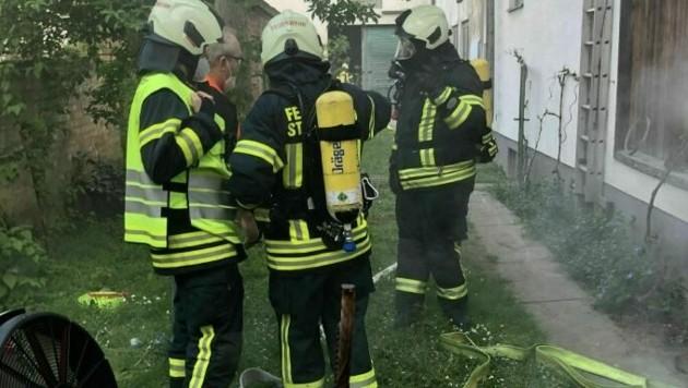 Einsatzübung der Feuerwehr (Bild: FF St. Georgen)