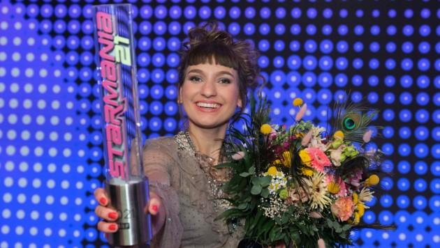 """Anna Buchegger gewann """"Starmania 21"""". (Bild: ORF)"""