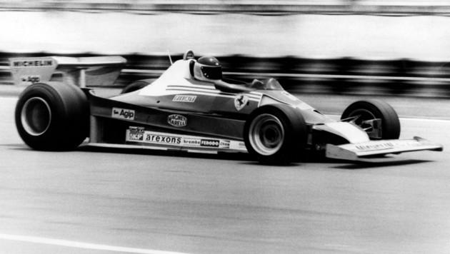 Carlos Reutemann im Ferrari (Bild: APA/AFP/NOTICIAS ARGENTINAS)