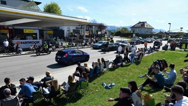 Am Pfingstwochenende war es zwar weniger sonnig, trotzdem trafen sich Tuning-Fans. (Bild: Hermann Sobe)