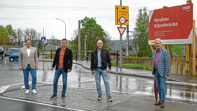 Neubau Kilzerbrücke, ÖBB-Infrakstruktur (Bild: Adrian Hipp)