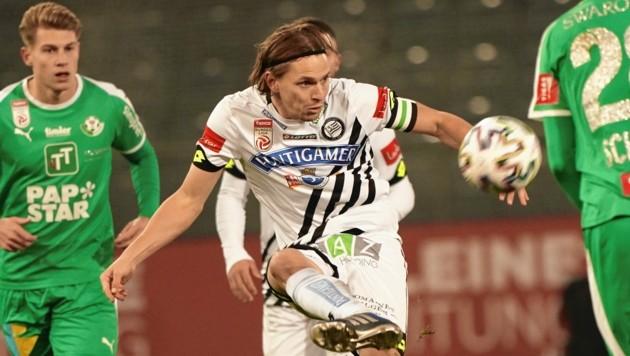 Stefan Hierländer will mit Sturm den Podestplatz der Bundesliga verteidigen. (Bild: Pail Sepp)