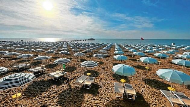 Urlaub am Meer: Pro Liegeplatz sind zwölf Quadratmeter eingeplant (Bild: ZVG)