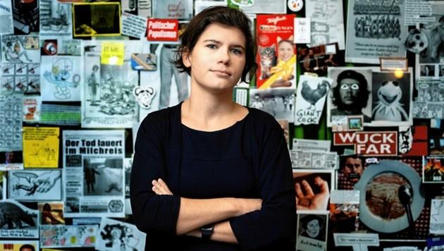 """Social-Media-Expertin Ingrid Brodnig ist auch Journalistin und Autorin des Buches """"Einspruch!"""". (Bild: Gianmaria Gava)"""