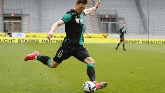 Auch Innsbrucks Markus Wallner hofft auf den Aufstieg. (Bild: Birbaumer Christof)