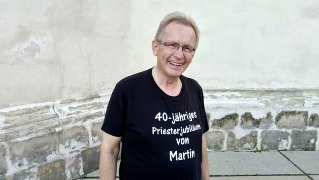 Im Vorjahr feierte Martin Korpitsch sein 40-jähriges Priester-Jubiläum. (Bild: Diözese Eisenstadt/ Patrick Davos)
