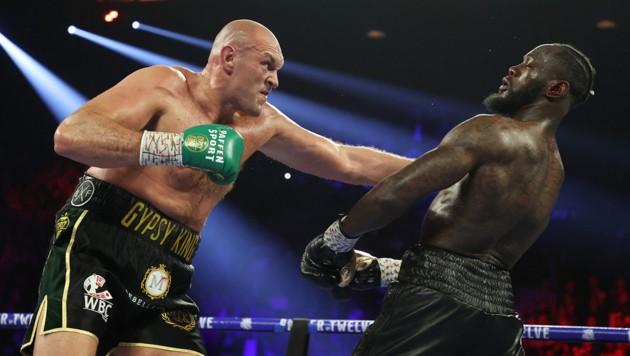 Tyson Fury (li.), Deontay Wilder (re.) (Bild: 2020 Getty Images)