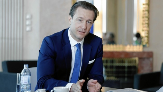 Finanzminister Gernot Blümel (ÖVP) (Bild: Andy Wenzel)