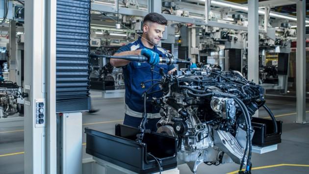 BMW Steyr steckt die Anpassungen im Produktionsprogramm bislang gut weg. (Bild: BMW Group Werk Steyr)