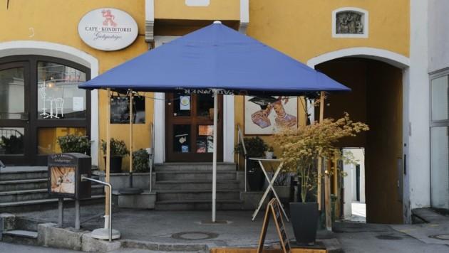 Bei dieser Konditorei in Innsbruck-Hötting nahm das Verbrechen seinen Lauf. (Bild: Birbaumer Christof)