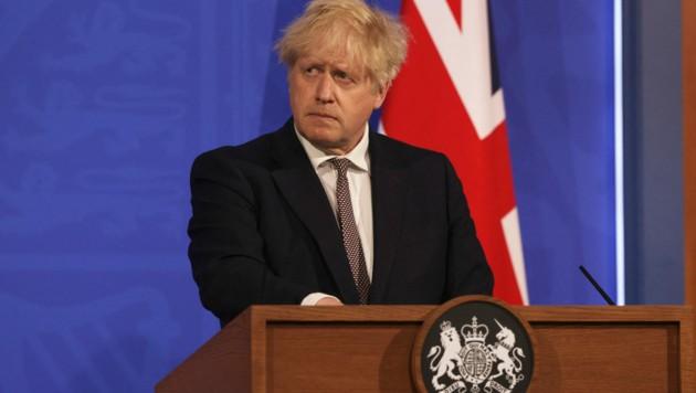 Der britische Premier Boris Johnson (Bild: AFP)