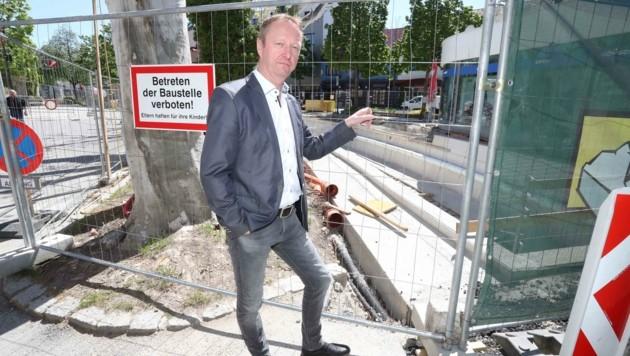 Mattersburg will durch das ökologische Projekt die Innenstadt weiter aufwerten. Tschürtz sieht die Freilegung der Wulka allerdings kritisch und fordert, in der Sache auch die Bürger miteinzubinden. (Bild: Judt Reinhard)