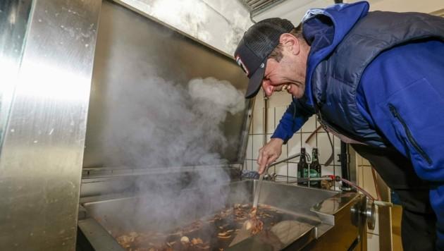 Während der Gastro-Schließung baute der Weiserhof seine Produktionsküche um. (Bild: Tschepp Markus)