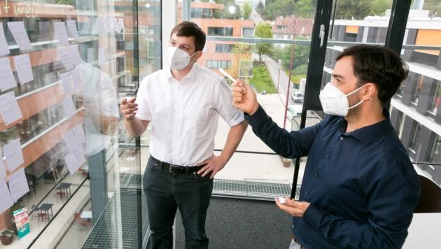 Braucht wirklich jeder einen Webshop? Christiane Mähr hat die Experten von Antiloop befragt. (Bild: Mathis Fotografie)